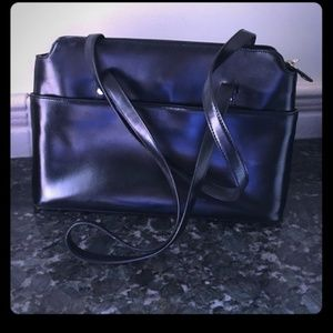 Brooks Brothers leather tote